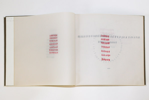 Athanasy - The Consuming Fire of Otherness, New Delhi 1993, Unikat 49 Blätter, 31,2 x 31,2 cm, Hardcover Elfenbein, Prägedruck