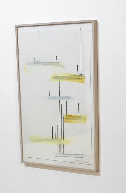 Demokratic Playground  2017 - Aquarell, Gouache auf Offset Papier - 100 x 70 cm
