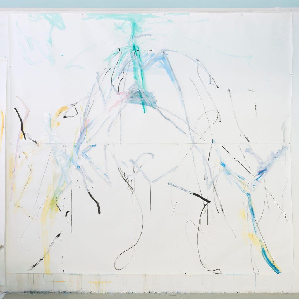 HELLA BERENT - EXPANDING NaturWesen 2017 - 302 x 330 cm - Aquarell, Gouache auf Fabriano Papier